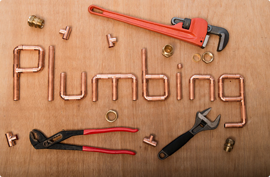 image of plumbing tools and equipments