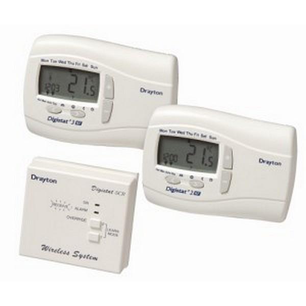drayton digistat rf700 wireless programmable thermostat. Black Bedroom Furniture Sets. Home Design Ideas