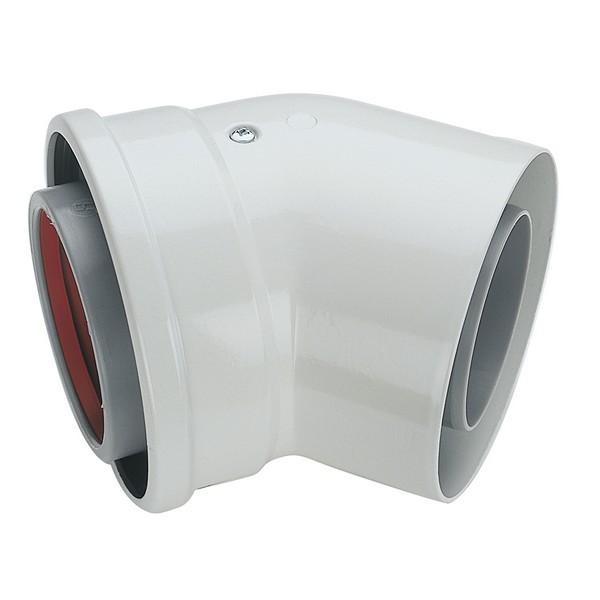 Vaillant 100mm 45° Bend Ecotec - Model Number - 303911