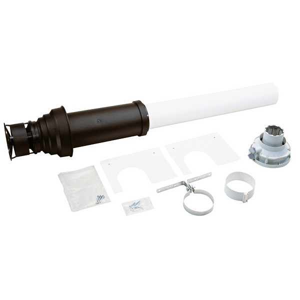 Worcester Vertical 1,090mm Flue Kit (inc. adaptor) - Model Number - 7 719 002 430 - 100mm Dimeter