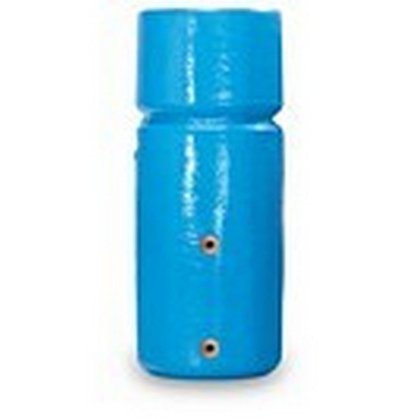 "1050mm x 450mm (42"" x 18"") DIRECT Combination Foam Lagged Cylinder - Capacity 115 Litres Hot / 20 Litres Cold"