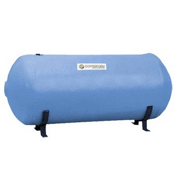 """1200mm x 450mm (48"""" x 18"""") INDIRECT Horizontal Lagged Cylinder  with Secondary Return Tapping - Capacity - 166 Litres"""
