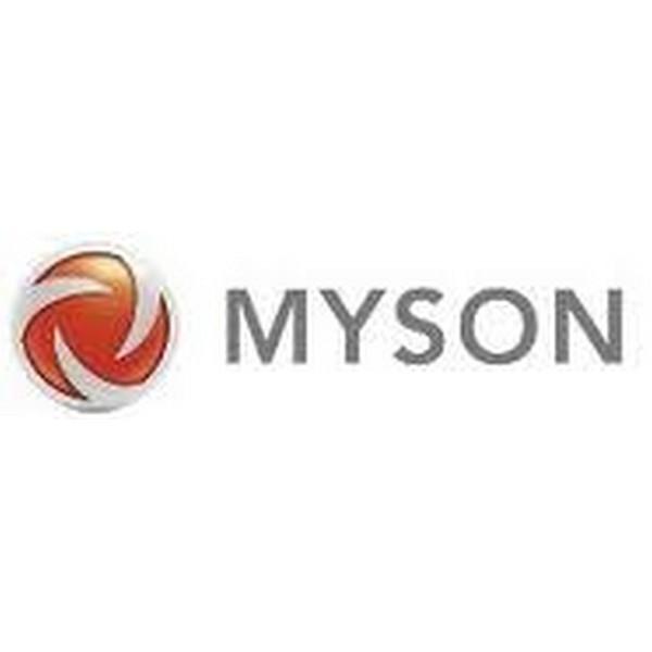 Myson Wallstrip End Stop Set