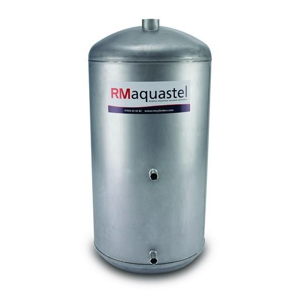 "1050mm x 450mm (42"" x 18"") Aquastel INDIRECT Steel Cylinder - Capacity - 143 Litres"