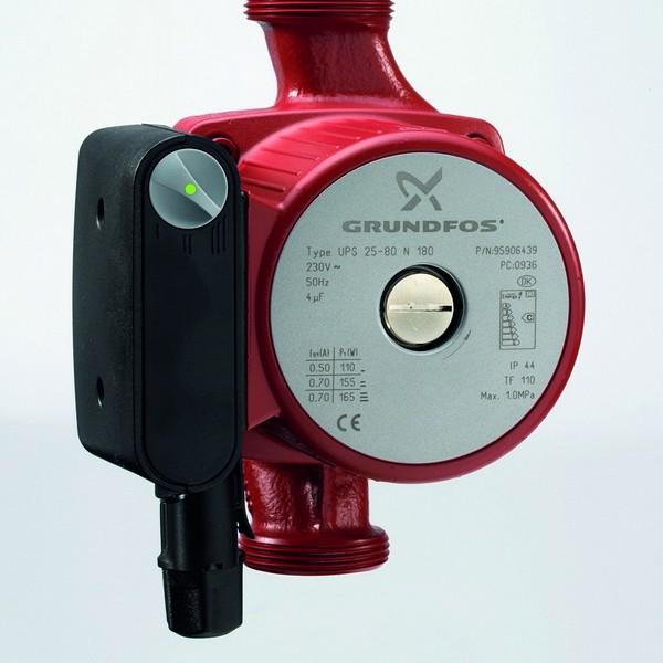Grundfos UPS 25-80N Hot Water Pump